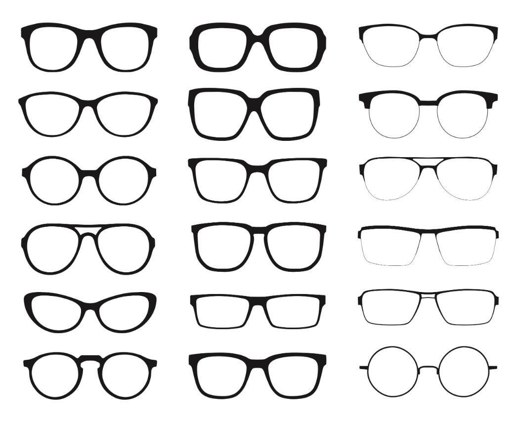 Glasses graphic